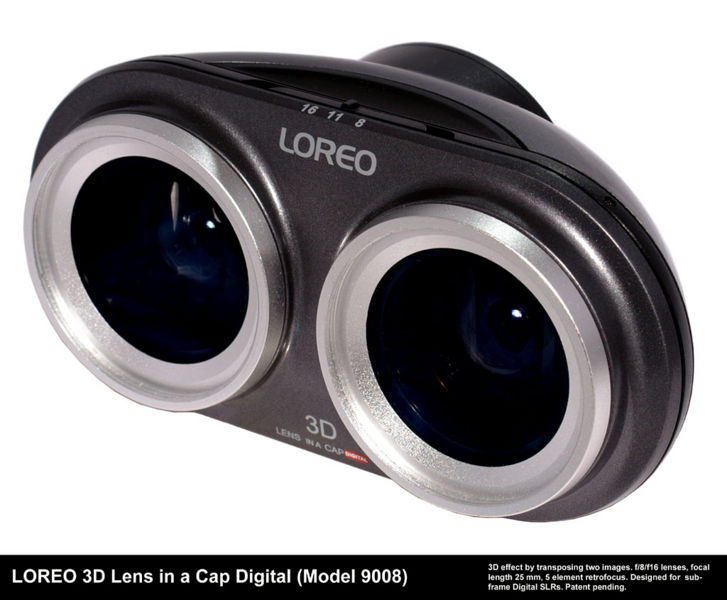Loreo 3d lens in a cap digital 01